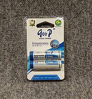 Аккумуляторы goop R6 2700mah АА