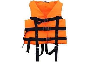 Страховочный жилет Aqua-Storm 80-110 кг Orange (2002)