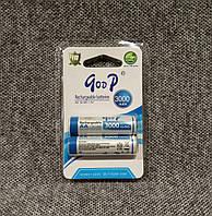 Аккумуляторы goop R6 3000mah АА