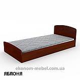 Кровать Нежность-90 МДФ полуторная стандартная с нишей для хранения, фото 6