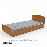 Кровать Нежность-90 МДФ полуторная стандартная с нишей для хранения, фото 8