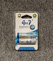 Аккумуляторы goop R6 1800mah AA