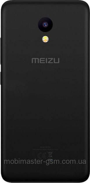 Задняя крышка Meizu M5c черная