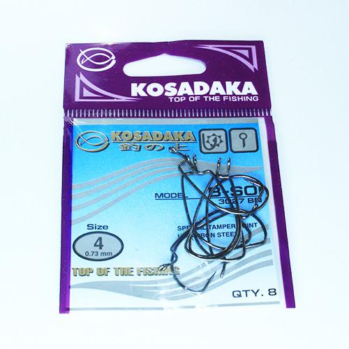 Крючок Kosadaka офсетный B-SOI (3027 BN) № 4