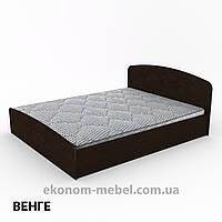 Кровать Нежность-160 МДФ полуторная стандартная с нишей для хранения, фото 1