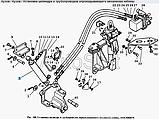 Гідроциліндр механізму перекидання кабіни (4310-5003014) ШНКФ453198.210 (пр-во Автогидроусилитель), фото 3