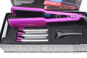 Плойка для волос Komex 306 4 насадки, фото 2