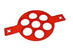 Форма для випічки оладок силіконова MHZ Flipping Fantastic