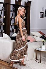 Сарафан с леопардовым принтом , фото 2