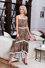 Сарафан с леопардовым принтом , фото 3