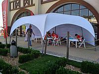 """Шатер палатка в аренду на 40 кв.метров - белая Красивая - """"ПАРК-6"""" под КЛЮЧ, фото 1"""
