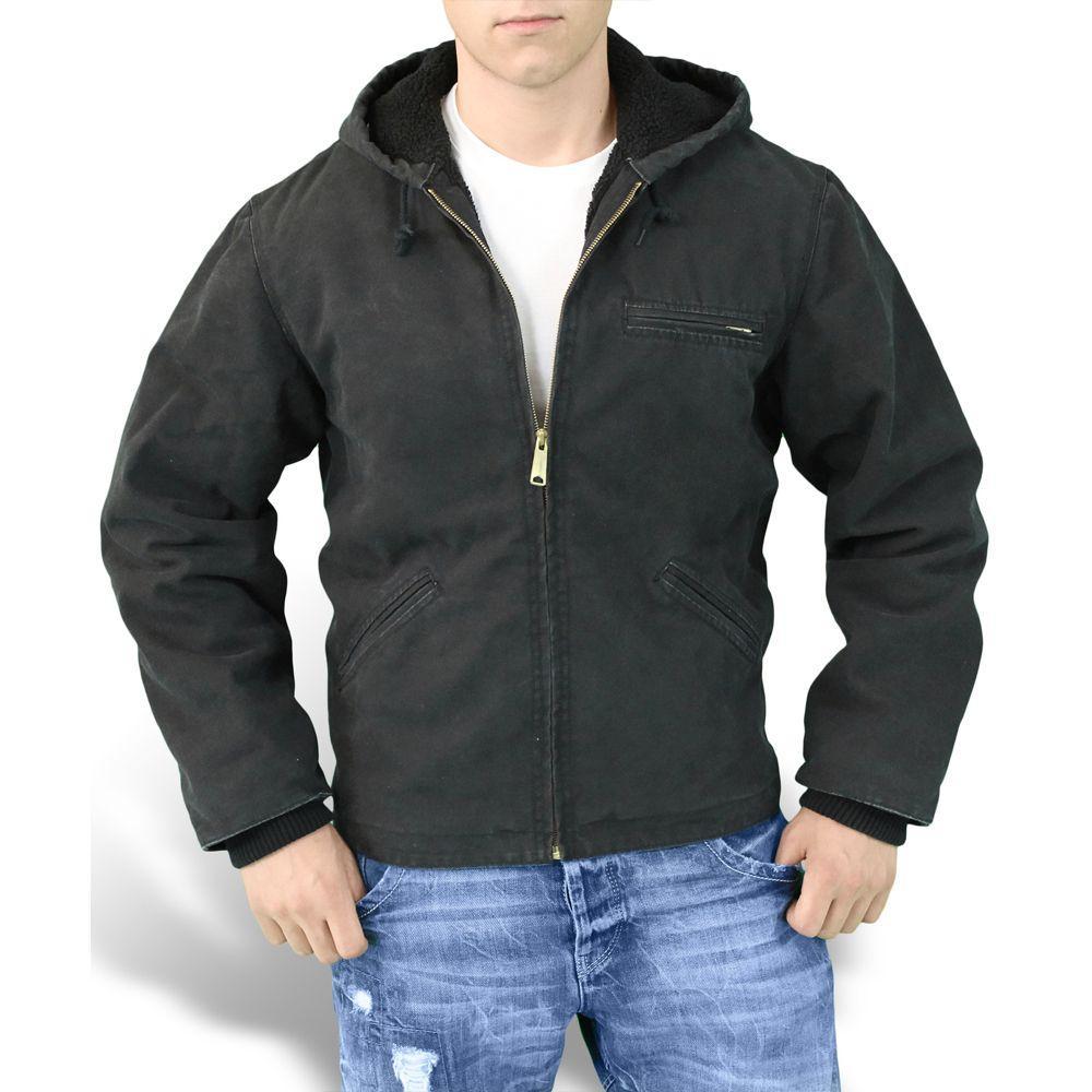 Зимняя куртка мужская Surplus Stonesbury Jacket Schwarz