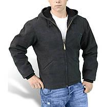 Зимняя куртка мужская Surplus Stonesbury Jacket Schwarz, фото 2