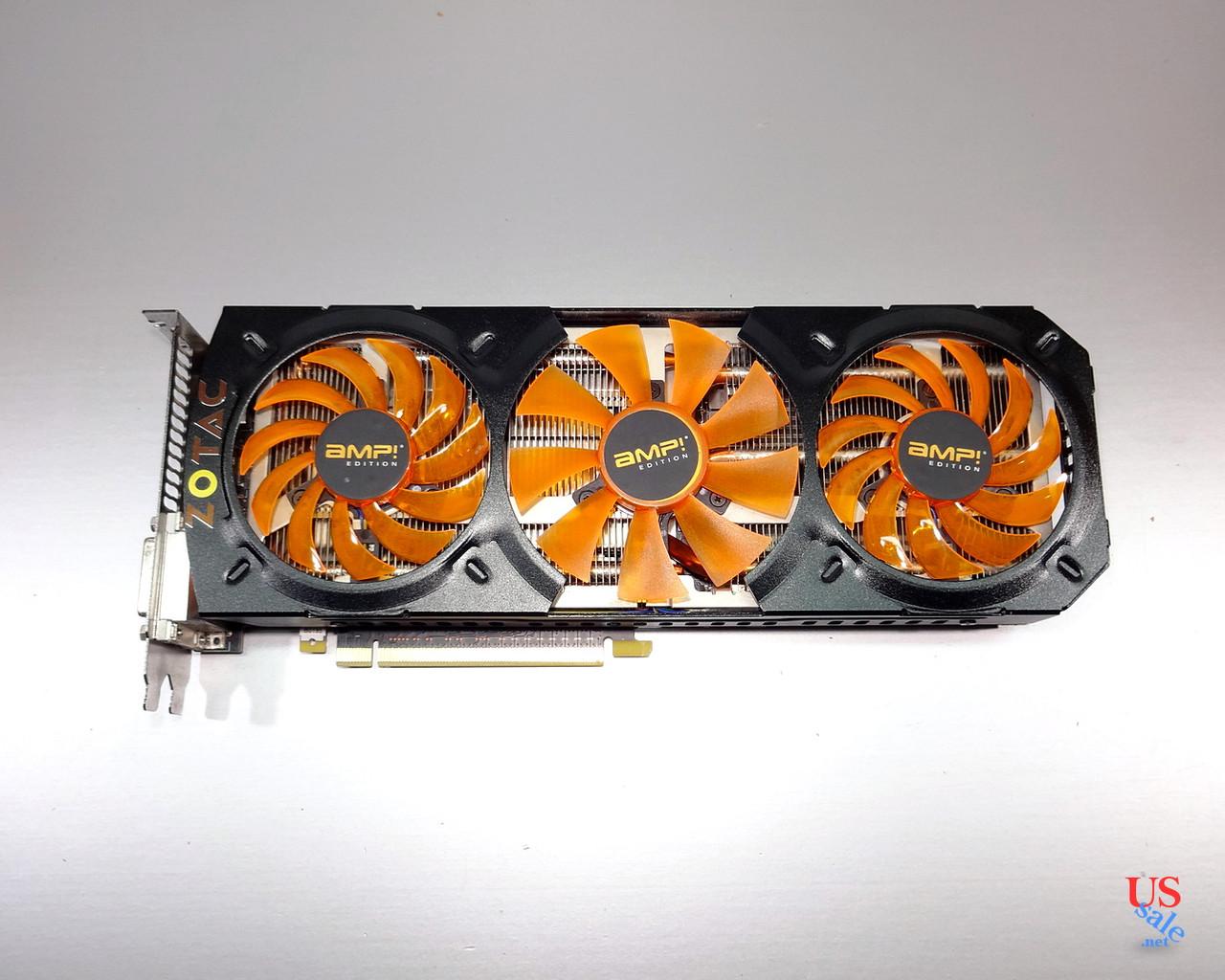 Zotac GeForce GTX 780 3Gb AMP Edition. Покупка без риска! Гарантия!