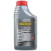 Масло моторное TEXACO HAVOLINE ULTRA S 5W-40 1л, синтетическое моторное масло
