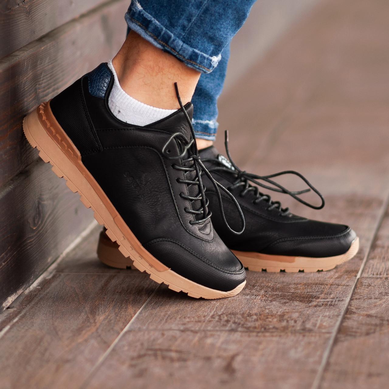 722d1ee78f7d Купить Мужские кроссовки South Apache black. Натуральная кожа 1 149 ...