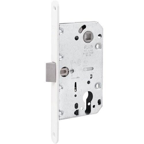 Механизмы для межкомнатных дверей AGB Mediana Evolution ЕВРО белый