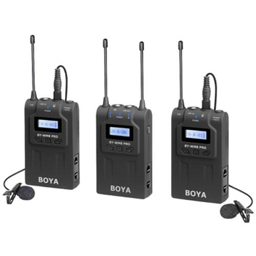 Беспроводная микрофонная система Boya BY-WM8 Pro К2