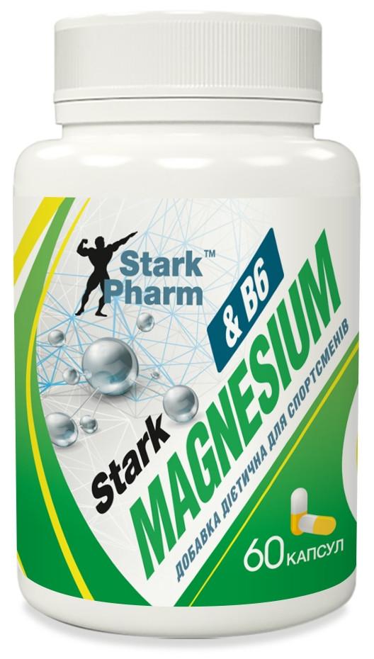 Магний Stark Pharm - Magnesium & B6 (60 капсул)