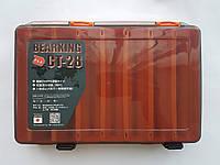 Коробка под воблеры двухсторонняя от BearKing 27*18*5см цвет orange