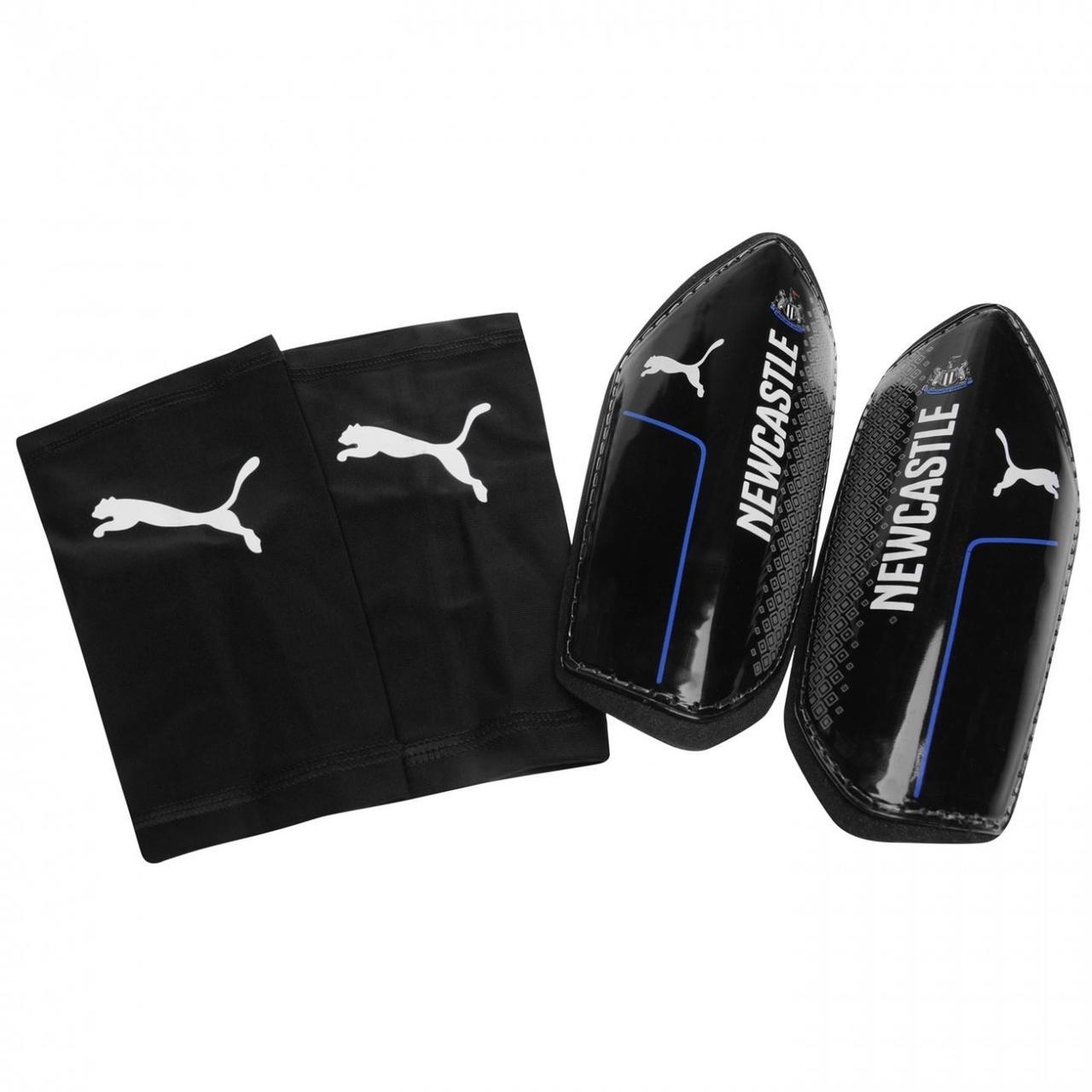 Футбольные щитки Puma - Newcastle United FC Оригинал