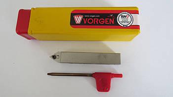 Резец проходной подрезной с механическим креплением 12х12х80 SCLCR F09 Vorgen