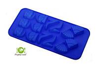 Форма  силіконова  Шоколад,  лід, асорті 7148 / Форма для выпечки силиконовая  Шоколад лёд 7148