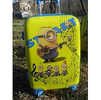 """Детский чемодан 20"""" на 4 колесах Minion, фото 1"""