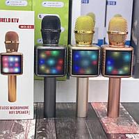 Беспроводной караоке микрофон Bluetooth MD-03 со светомузыкой