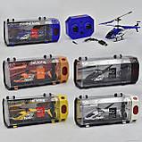 Вертолет 33008 (24/4) 3 вида, р/у, гироскоп, аккум, 3-х канальный пульт ДУ, мет+пластик, в кор-ке Длина: 28, фото 3