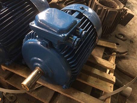 Электродвигатель 11 кВт 1500 об/мин, фото 2