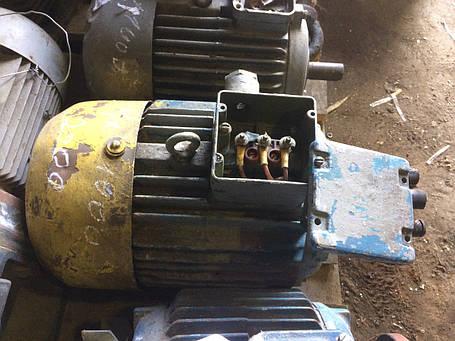 Электродвигатель 4 кВт 1000 об/мин, фото 2