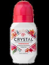 Натуральний роликовий дезодорант Кристал з екстрактом граната, 66 мл