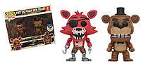Фигурки 5 ночей с Фредди Funko POP Five Nights at Freddy's Foxy the Pirate Fox with Freddy Fazbear, фото 1
