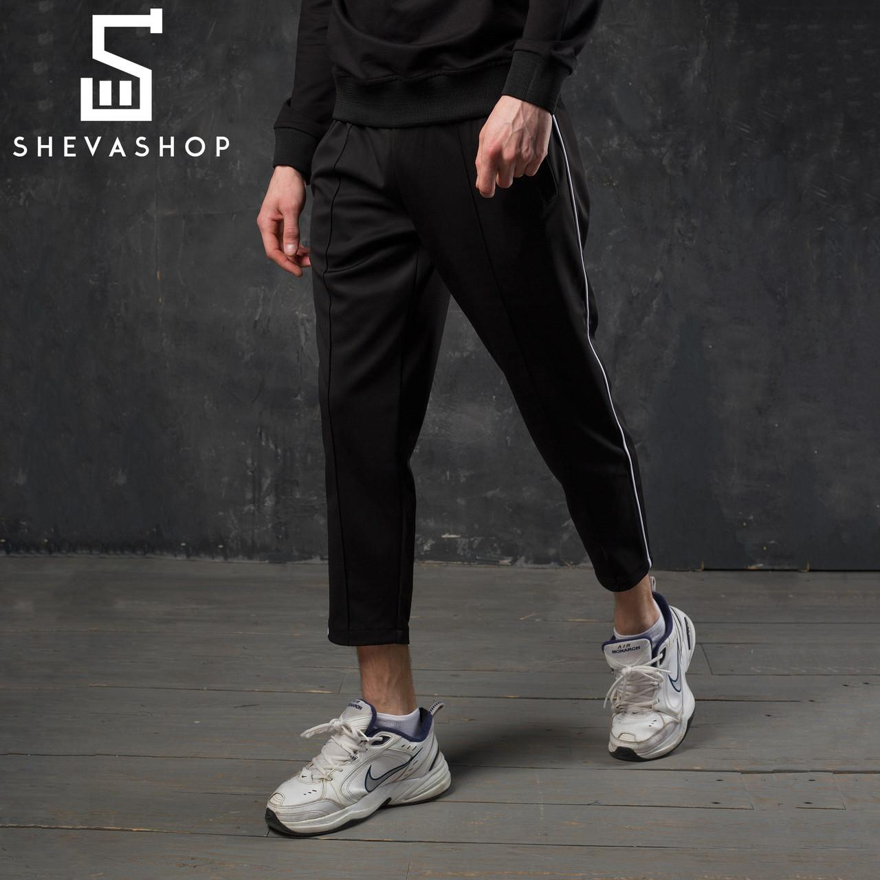 fd45a1dc Спортивные штаны с полосой мужские ТУР Cage черные - купить по ...