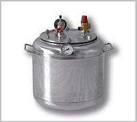 Автоклав А 16 газ ( 7 банок- 1л 16 банок-0,5 л) из нержавеющей стали, фото 1
