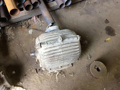 Электродвигатель 7,5 кВт 1500 об/мин, фото 2