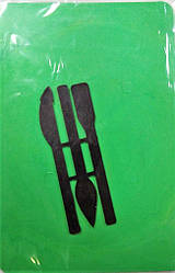 Доска для пластилина А5 (150*220)  с 3-мя стеками Козлов