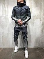 Мужской спортивный костюм. Темно-серый