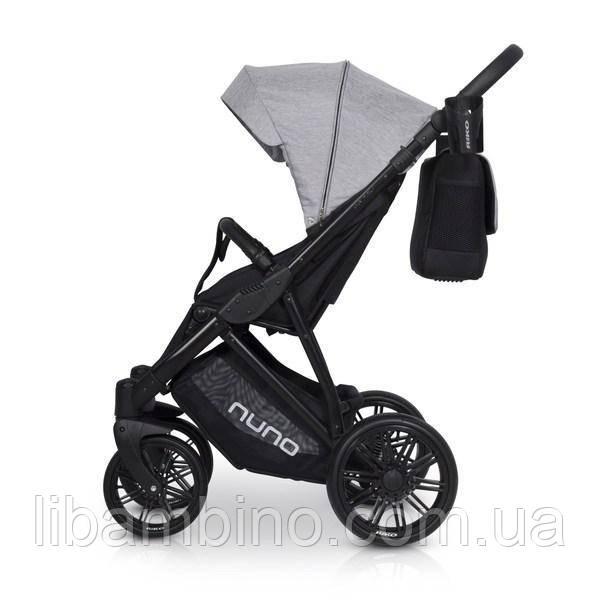 Дитяча універсальна прогулянкова коляска Riko Nuno 04 Grey Fox
