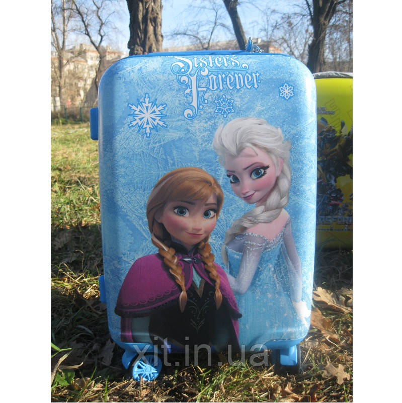 """Детский чемодан для девочек 20"""" на 4 колесах Frozen"""