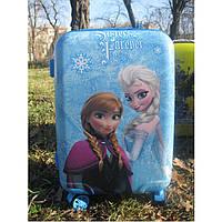 """Детский чемодан для девочек 20"""" на 4 колесах Frozen, фото 1"""