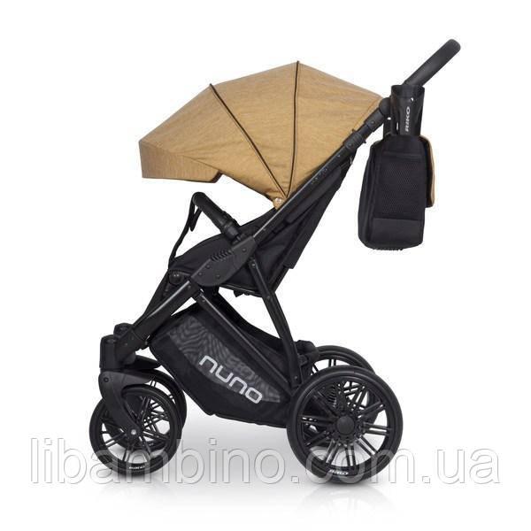 Дитяча універсальна прогулянкова коляска Riko Nuno 02 Gold