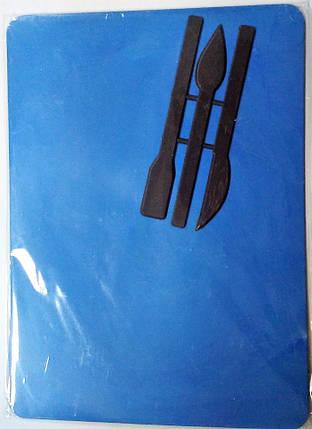 Доска для пластилина В5 К-3033,3032 с 3-мя стеками Атлас, фото 2