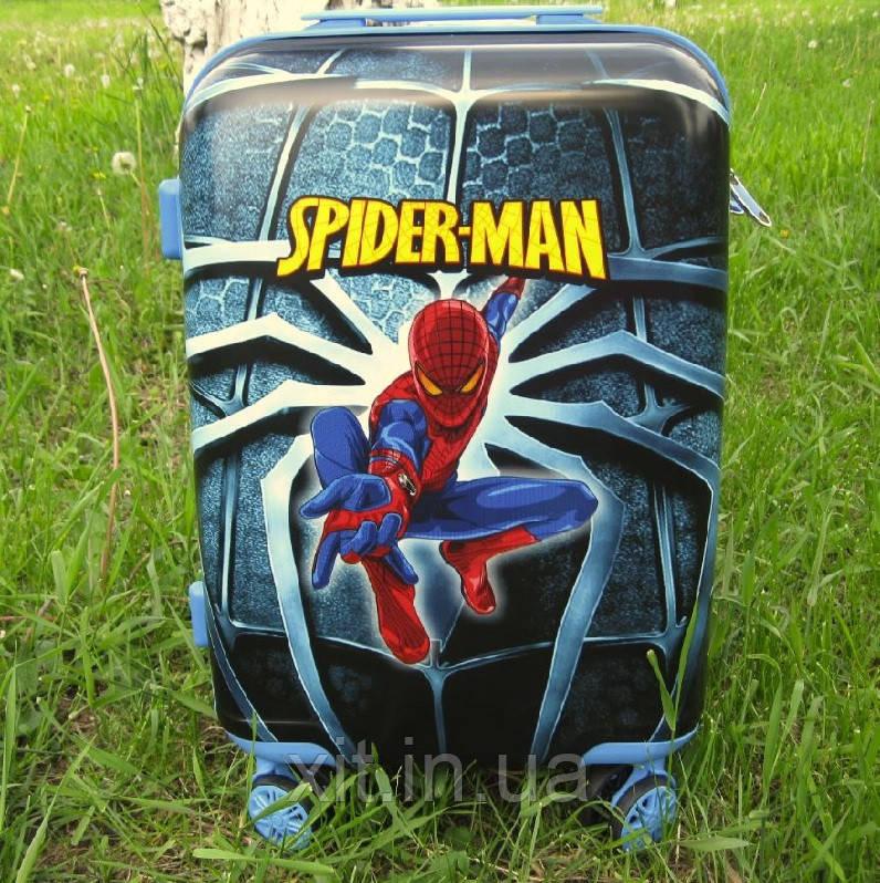 "Детский чемодан 20""  Человек паук"