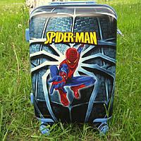 "Детский чемодан 20""  Человек паук, фото 1"