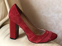 Туфли женские красные от производителя модель ФТ11