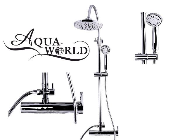 Душевая стойка со смесителем Aqua-World СМ35Ш.1