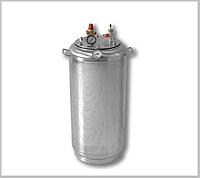 Автоклав А 40 газ ( 28 банок- 1л 40 банок-0,5 л) из нержавеющей стали