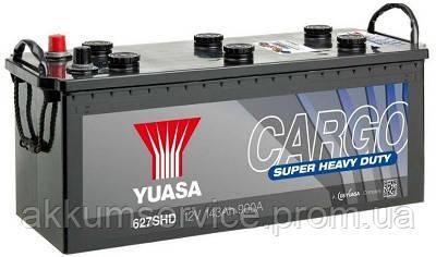 Аккумулятор грузовой YUASA Cargo Super Heavy Duty 143 Ah Euro (627SHD)